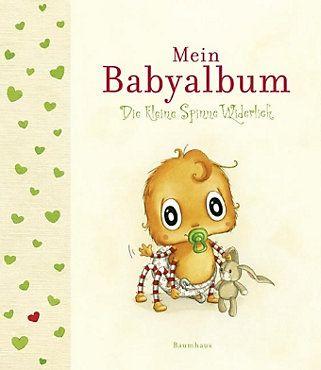 Die kleine Spinne Widerlich - Mein Babyalbum Buch portofrei