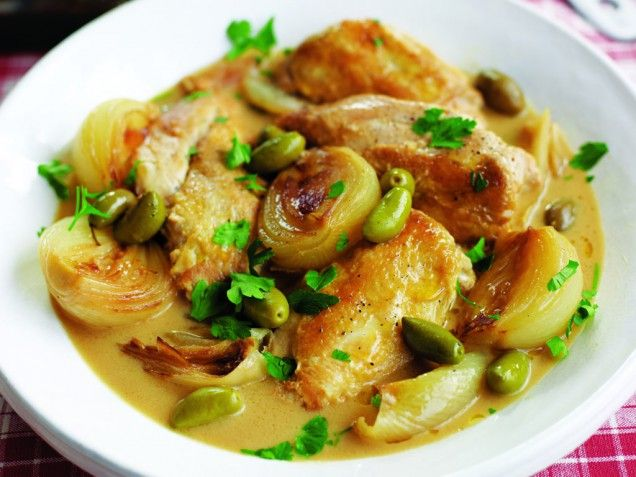 Chicken with Sherry, Mustard and Olives | From: 80 Recipes for Your ...