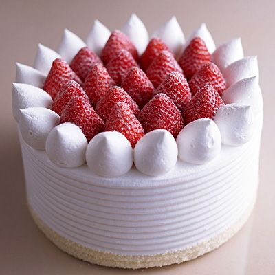 Strawberry shortcake always makes me happy.