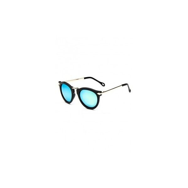 LUCLUC Gold Colorful Retro Arrow Anti-Luster Film Sunglasses ($7.99) ❤ liked on Polyvore featuring accessories, eyewear, sunglasses, retro style glasses, colorful glasses, multi color sunglasses, colorful sunglasses y multi colored sunglasses