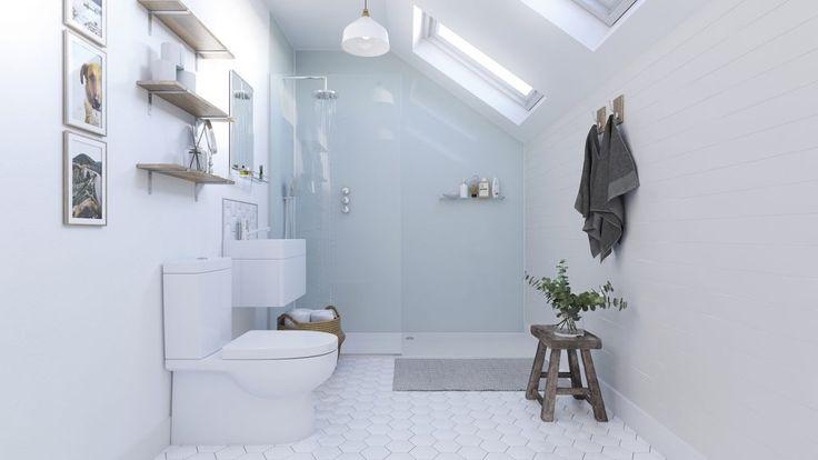 Aqua Ice - Showerwall | Bathroom wall panels, Alternative ...
