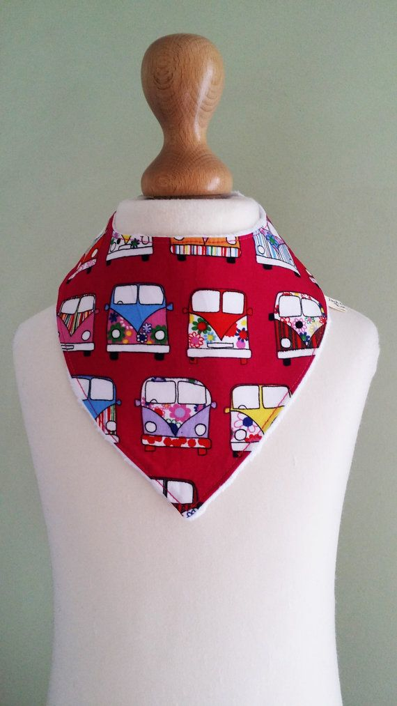 Check out this item in my Etsy shop https://www.etsy.com/uk/listing/467692881/campervan-dribble-bib-pink-baby-bandana