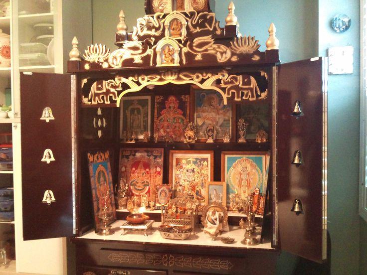 35 best pooja room images on Pinterest Puja room Hindus and