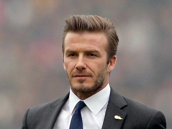 David Beckham Hairstyle - Pompadour #Hair #Men #MensHair