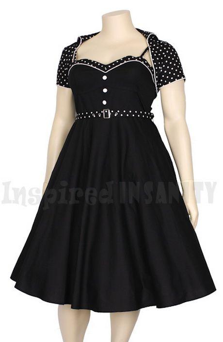 Plus size rockabilly dresses