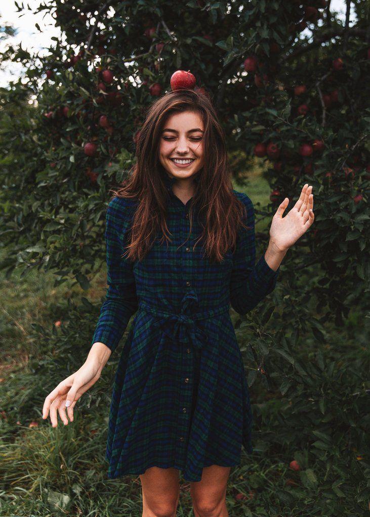 KJP flannel dress