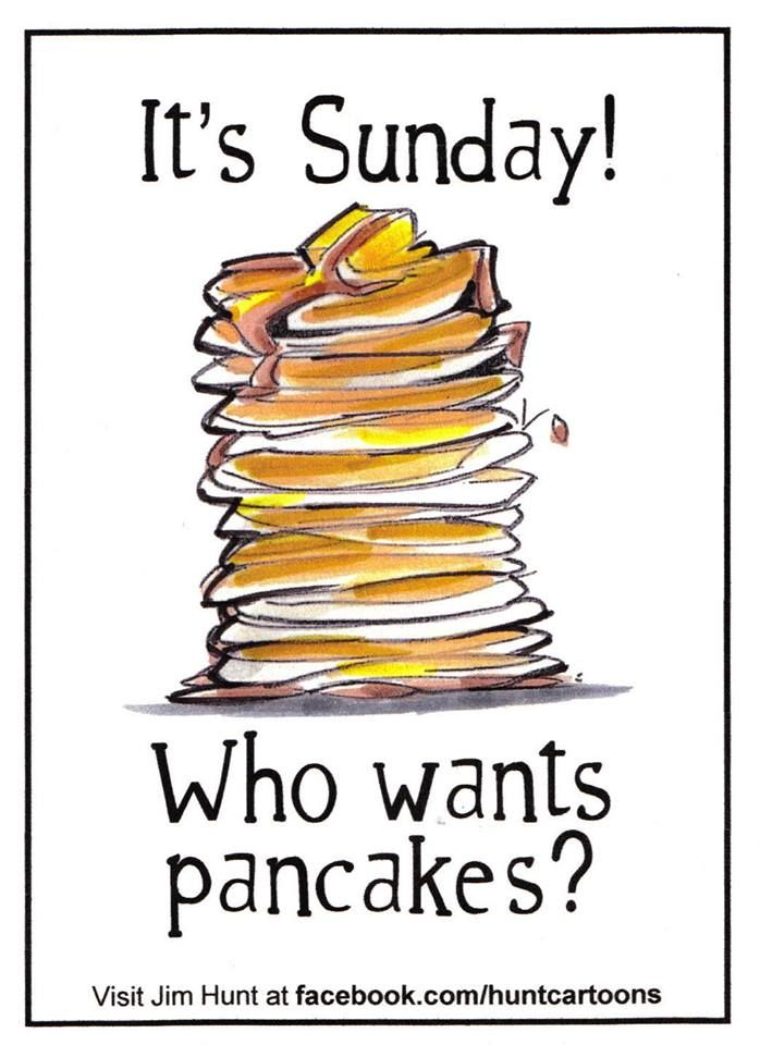 Pancakes on Sunday mornings ...