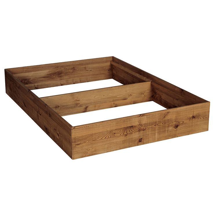 17 meilleures id es propos de cadre de lit en bois sur pinterest lit rust - Cadre de lit bois massif ...