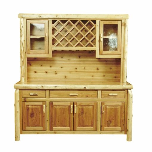 ... Cedar Log Buffet And Hutch And Other Fine Log Furniture From Fireside  Lodge Browse Our Rustic Furniture Catalogs Now With Simpson Furniture  Coralville.