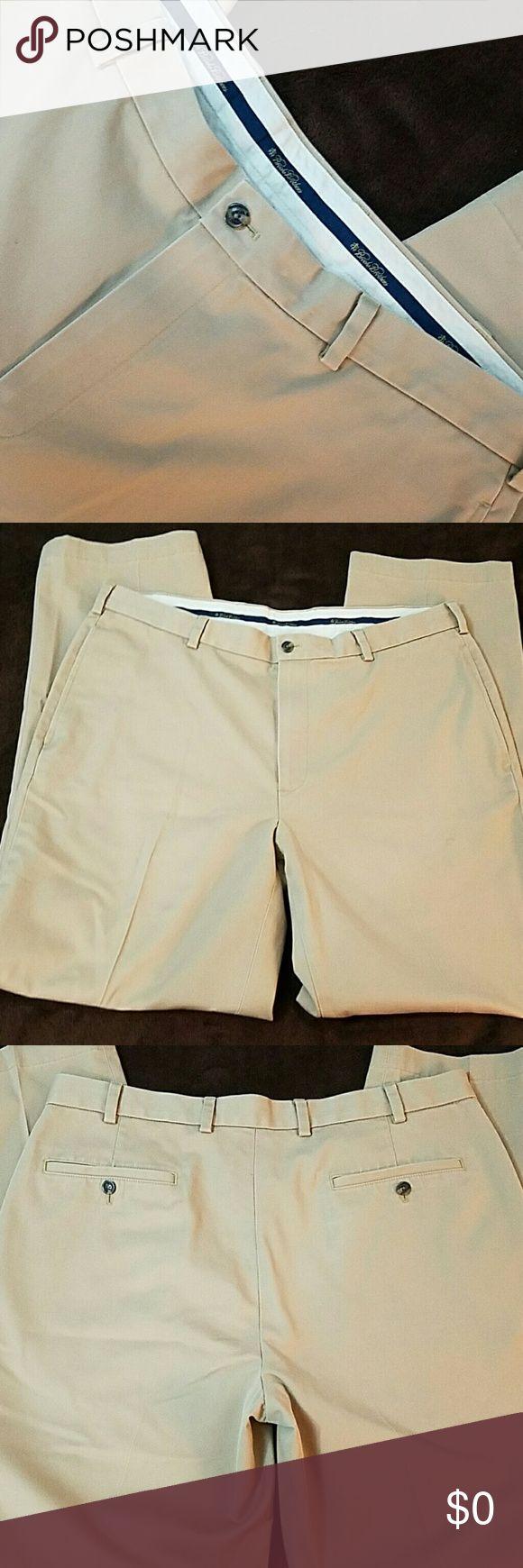 ♂Brooks Brothers Khakis♂ Tan Brooks Brothers Khakis. 100% Cotton. 38x34 Brooks Brothers Pants Chinos & Khakis