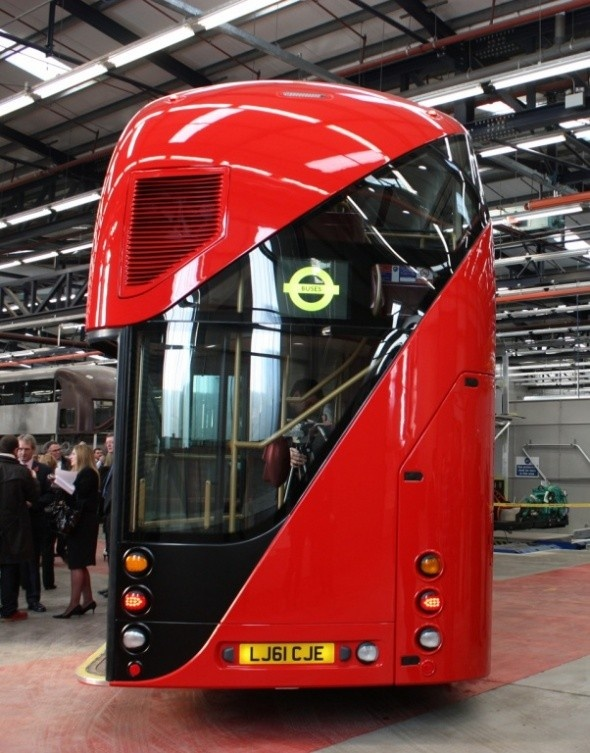 """New Routemaster Buses - Thomas Heatherwick 