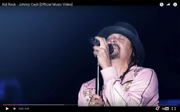 Кид Рок выпустил видео на песню Johnny Cash - http://rockcult.ru/kid-rock-video-johnny-cash/