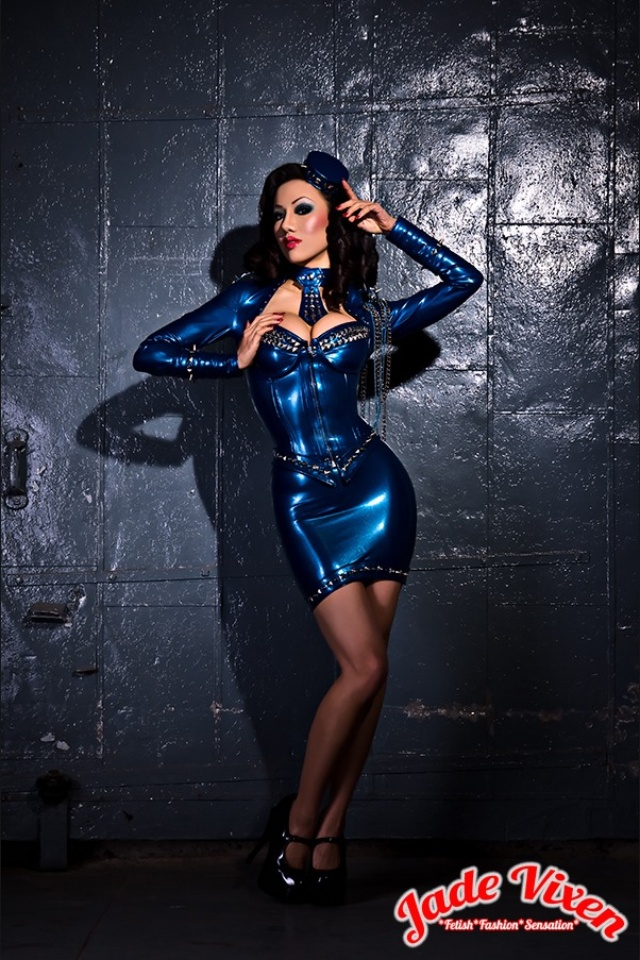 Jade Vixen: Couture Latex And Fetish