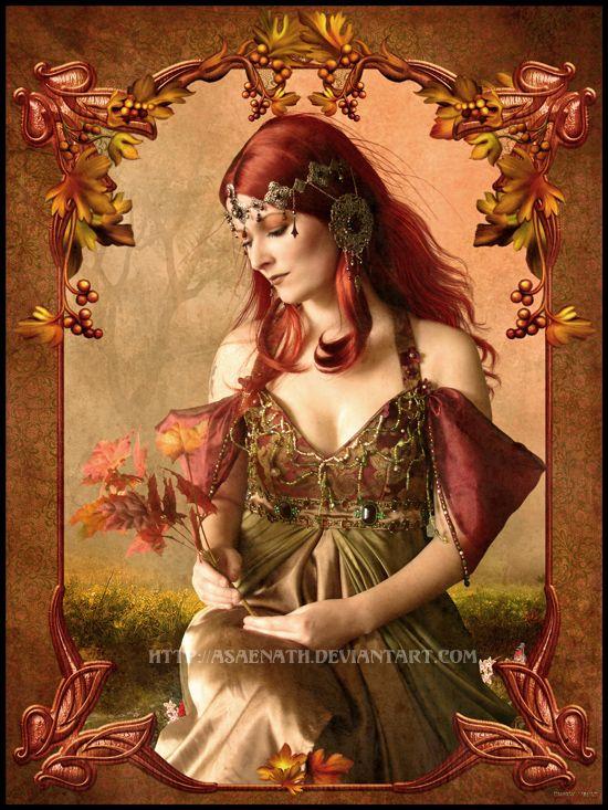 The Portrait of Autumn by UnholyVault