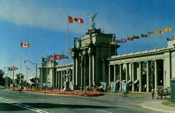 The Princes' Gates - CNE  Canadian National Exhibition  Toronto Ontario