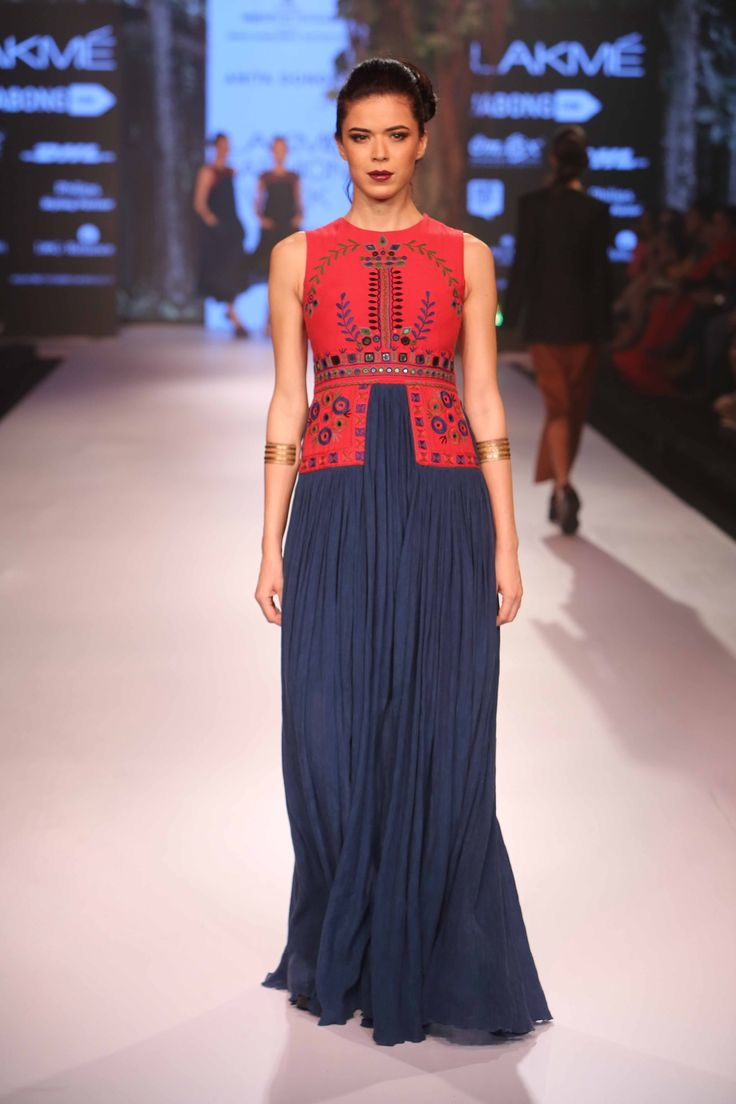 Collection by Anita Dongre at Lakme Fashion Week Winter Festive 2015! #JabongLFW