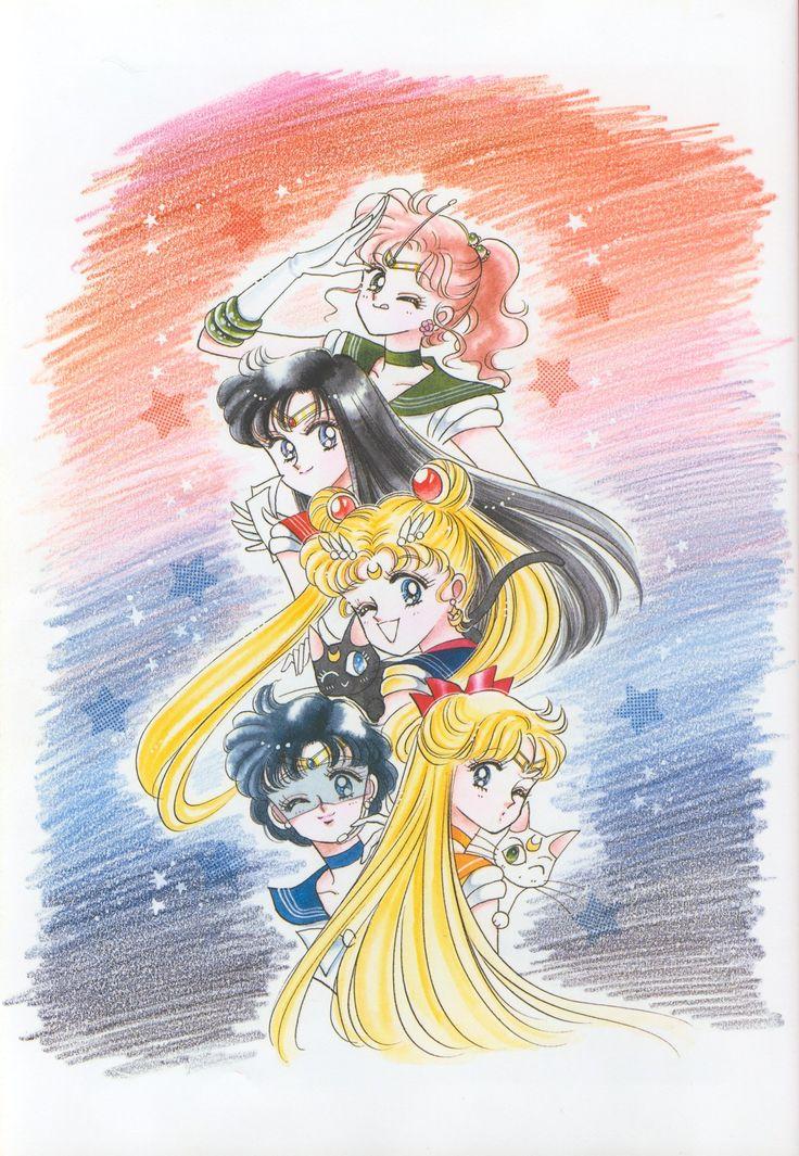 Bishoujo Senshi Sailor Moon Original Picture Collection Vol. II   Manga Style!