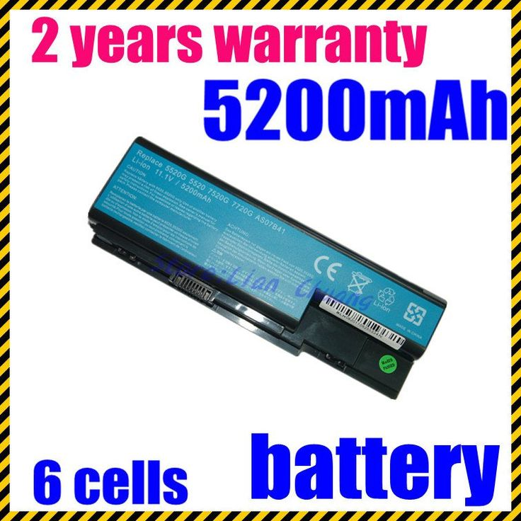 JIGU freeshipping 4400mAh Laptop Battery for Acer Aspire  5535 Series 5710 Series 7720G 5739 5739 as07b31 #Affiliate