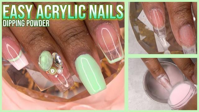 Whoops Acrylic Nails At Home Powder Nails Dip Powder Nails