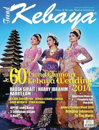 Wayang | Trend Kebaya Ed 30  Venza Kebaya dalam liputan Cover Majalah Trend Kebaya