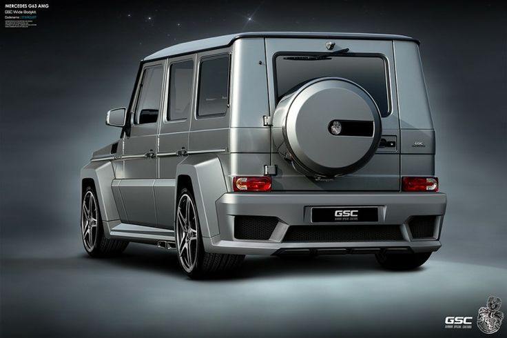 G-Class Widebody Options by GSC Look Ready For Terminator 5