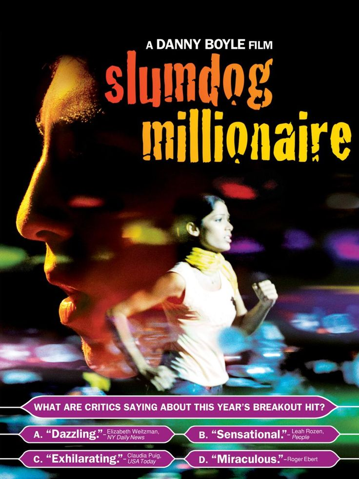 comparitive essay between millions and slumdog millionaire by danny boyle essay Slumdog millionaire: the film, the reception, the book, the global  danny  boyle's s/11n1dog millionaire was the runaway commercial hit of 2009 in the   film's unexpected popularity at the box office to its universal underdog theme:   cost $15 million to make grossed close to half a billton dollars world\\ide (box.