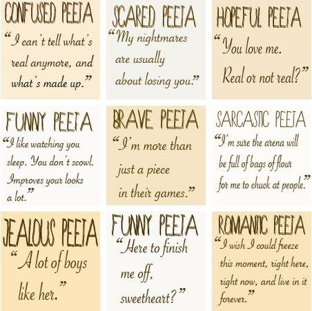 Peeta Quotes