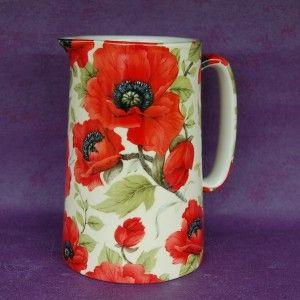 Poppy pitcher