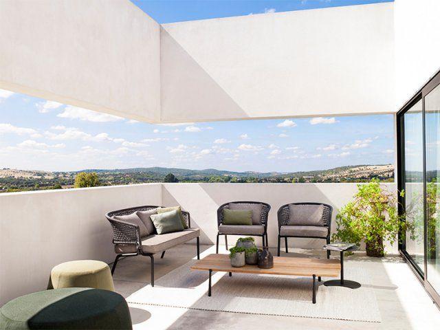 salon de jardin countour trib - Outdoor Mobel Set Tribu