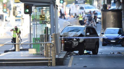 Melbourne car attack man on 18 attempted murder charges  An Afghan refugee accused of ploughing his car into pedestrians in Melbourne was charged with 18 counts of attempted murder Saturday as police vowed a boosted presence over the Christmas period. Saeed Noori who has a history of drug abuse and mental problems allegedly drove his car through a busy downtown intersection on Thursday careering into tourists and shoppers.  His motive is not clear although police allege he made utterances to…