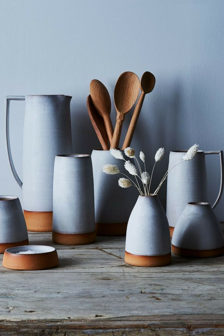 Handthrown Dipped Ceramic Pitcher – #Ceramic #dipp…