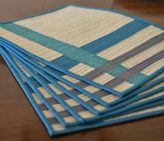 Quilted Placemats for a swap – Quilting