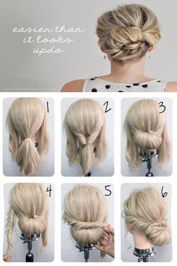New Haircut Style For Long Hair Long Hairstyles Ideas 2016 Easy Updos For Shoulder Length Hair Easy Hair Dos Hair Styles 2017 Beach Waves Hair Tutorial