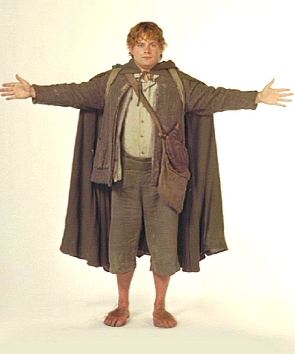 sam with cloak