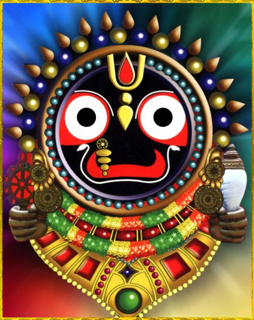 "✨ JAY JAGANNATH ✨""Lord Krishna, the one master and the Lord of the universe, is worthy of being served by everyone. Indeed, everyone is but a servant of His servants.""~Chaitanya Charitamrta Adi 6.83"