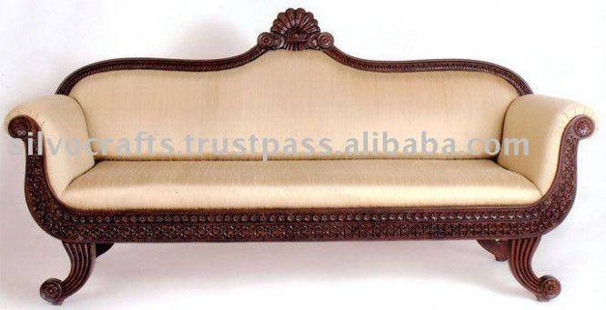 Rajasthani Wooden Sofa Set Robert Wan In 2020 Wooden Sofa