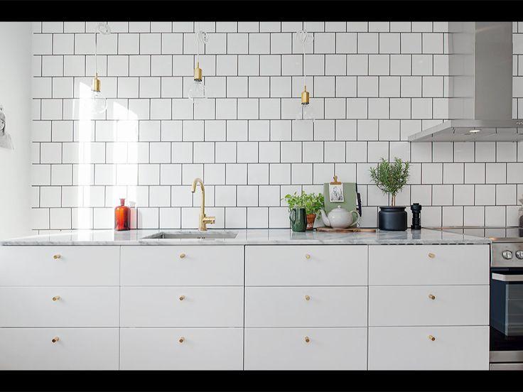 Kök, marmor + varma detaljer