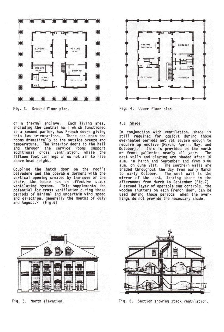 Oak Alley Plantation House Plans House And Home Design