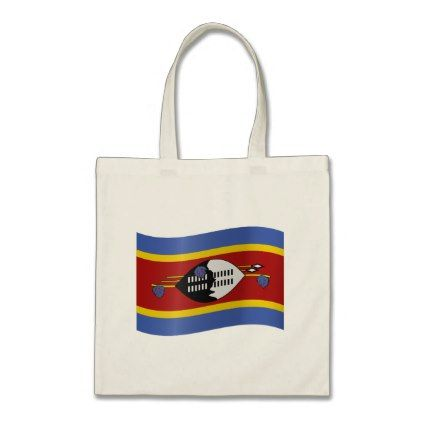 #Swaziland Flag Tote Bag - #country gifts style diy gift ideas