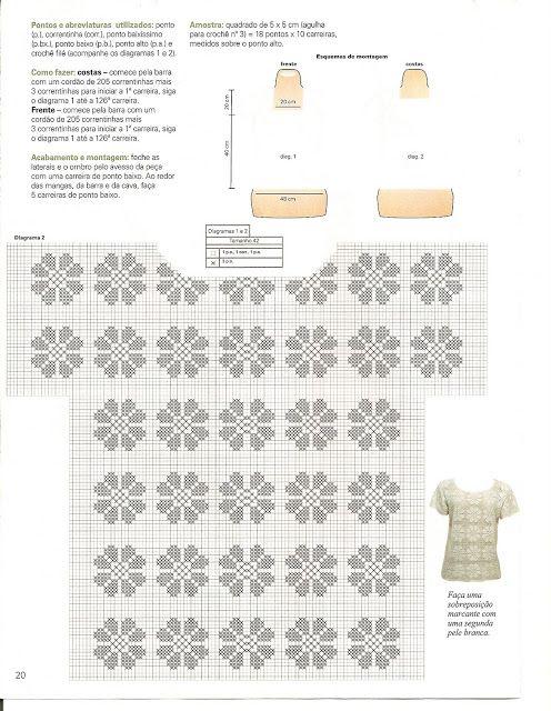 Uncinetto d'oro: Magliette bianche.