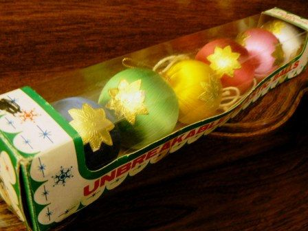vintage Ornaments  MULTICOLORED brilliant by ThriftyDiversions, $16.00