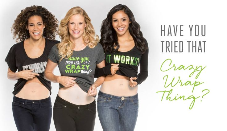 Have You Tried That Crazy Wrap Thing? | It Works #tighten #firm #tone #getfit #getyoursexyback #weightmanagement #weightloss