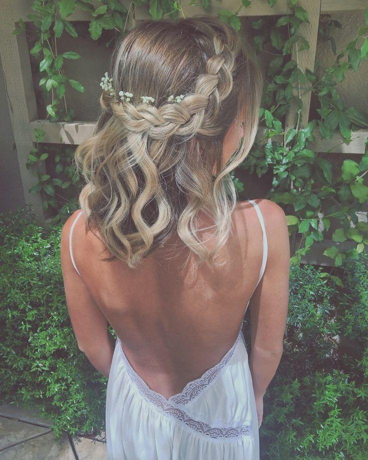 Geflochtenes schulterlanges Haar: 15+ einfach zu v…