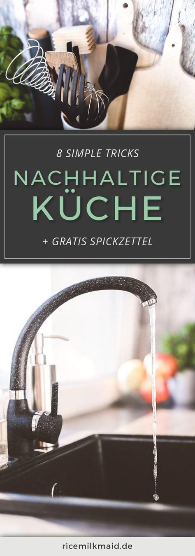 8 Simple Tipps Für Mehr Nachhaltigkeit In Der Küche