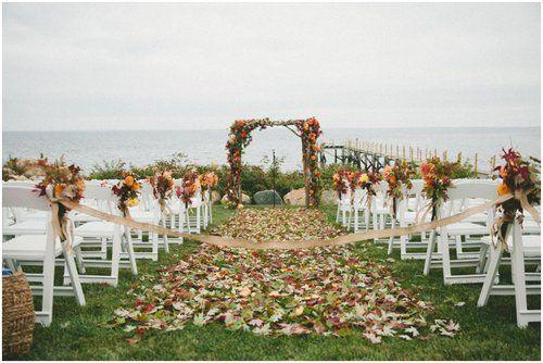 october wedding idea