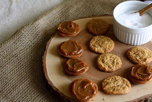 Dulce de Leche Sandwich Cookies | desserts | Pinterest