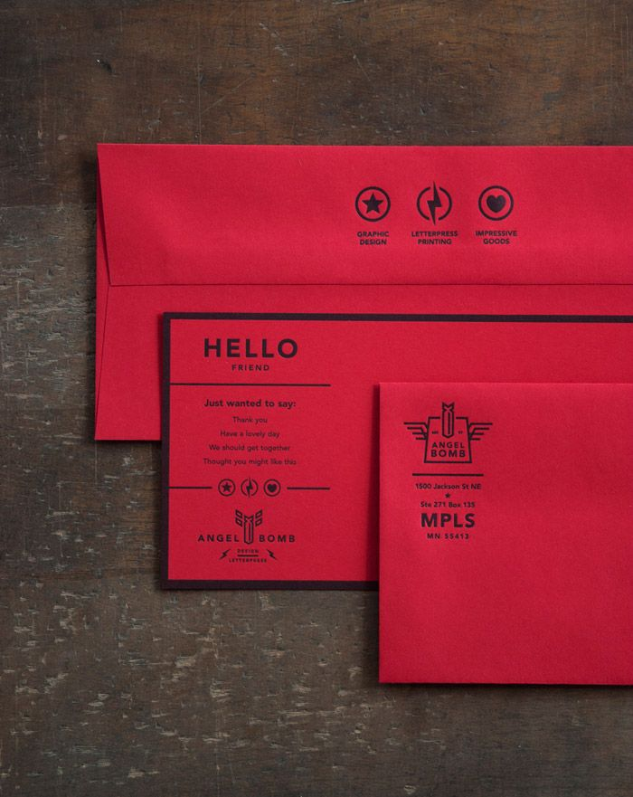 Angel Bomb Identity Collateral