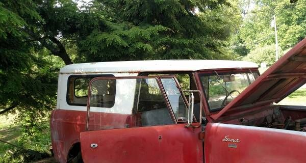 **1965 International Scout parts** – auto parts – by owner