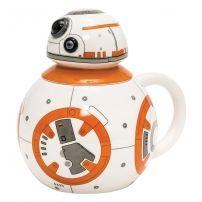 Kubek Star Wars 3D BB-8 z wieczkiem