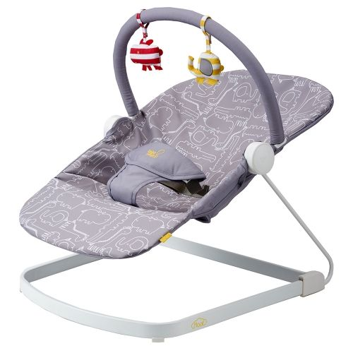 Bababing! Float Baby Bouncer in Grey
